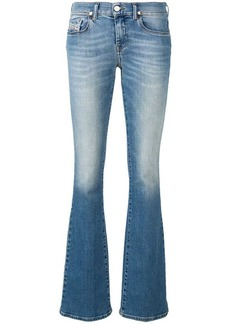 Diesel low rise faded jeans