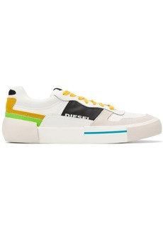 Diesel low-top colour block sneakers