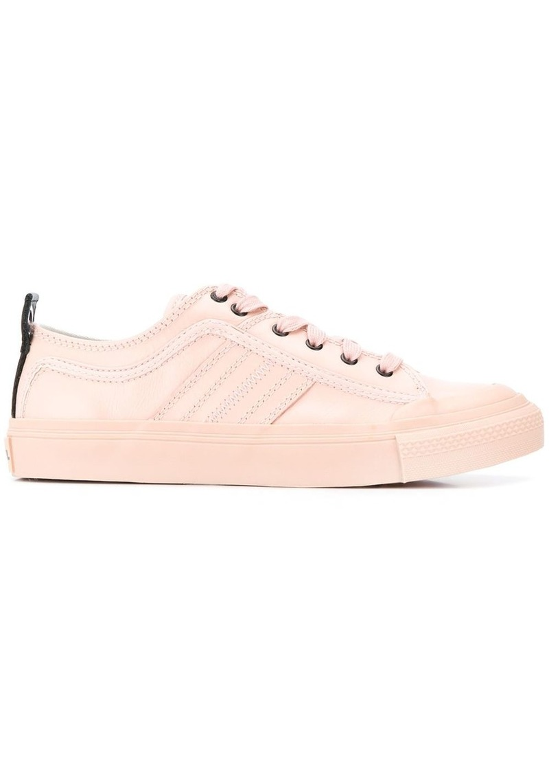 Diesel low-top sneakers with stitching