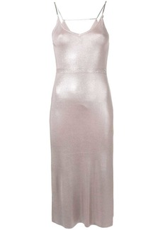 Diesel M-Foil slip dress