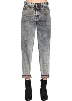 Diesel Marble Washed Cotton Denim Jeans