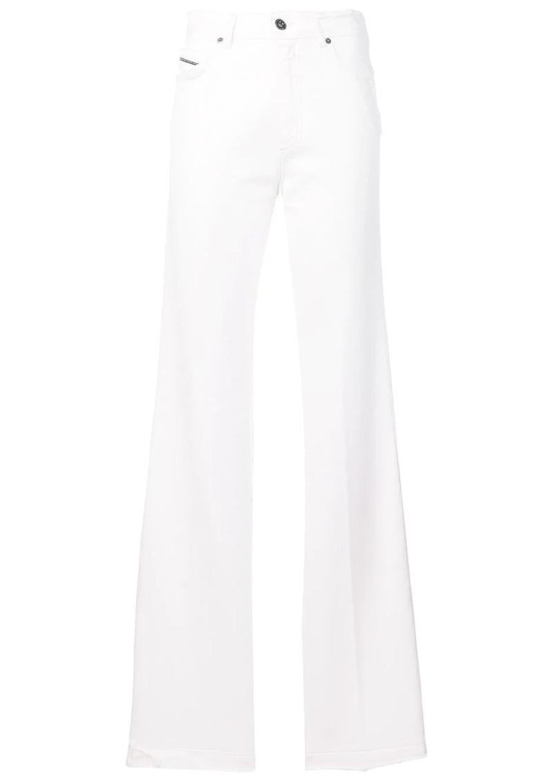 Diesel medium-cast bootcut jeans