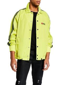 Diesel Men's J Akito Snap-Front Jacket