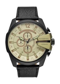 Diesel Men's Mega Chief Chronograph Quartz Watch, 51mm