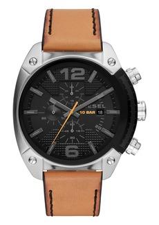 Diesel Men's Overflow Chronograph Quartz Watch, 49mm