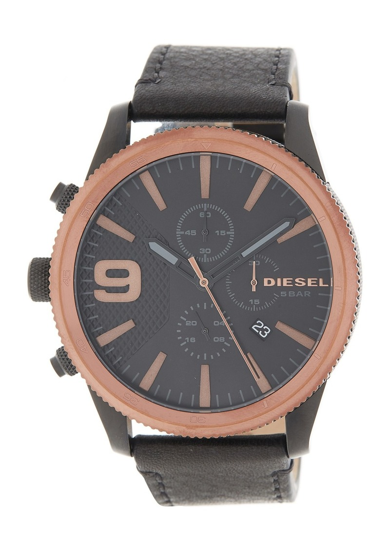 Diesel Men's Rasp Chronograph Quartz Watch, 50mm