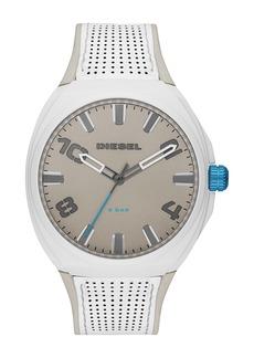 Diesel Men's Stigg Leather & Silicone Strap Watch, 48mm