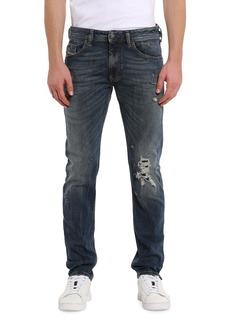 Diesel Men's Thommer Distressed Straight-Leg Jeans