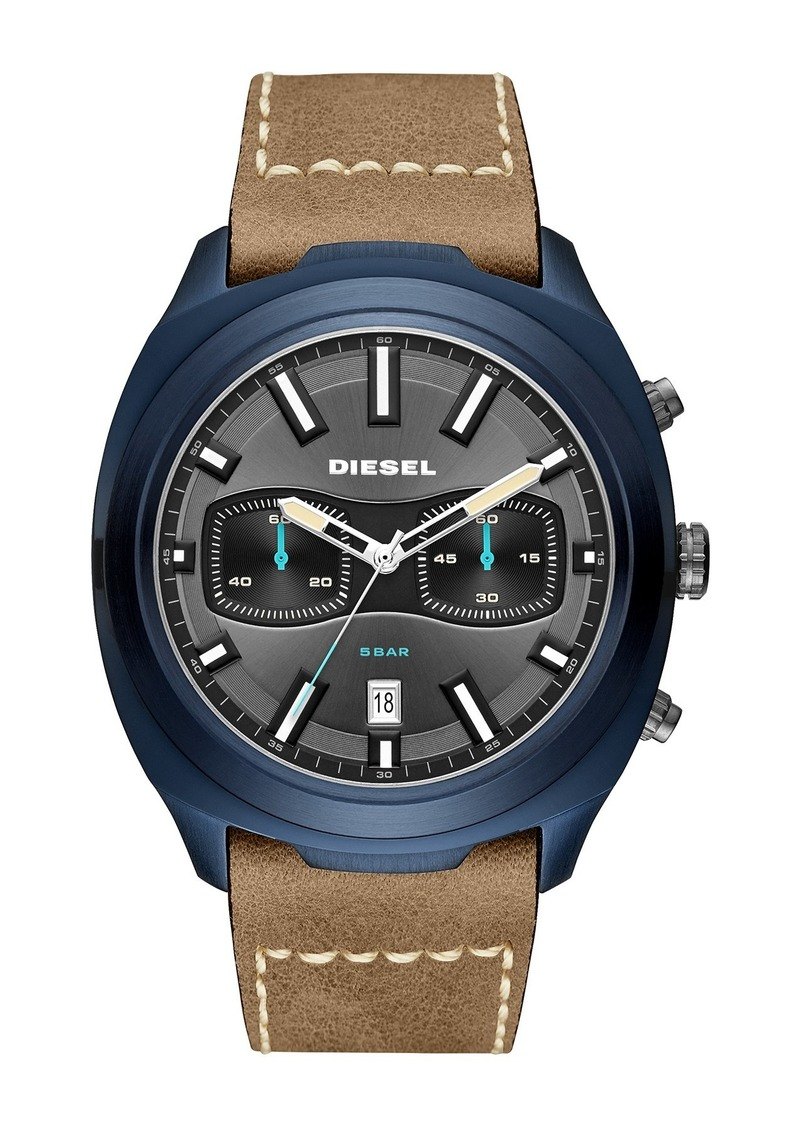 Diesel Men's umbler Chronograph Quartz Watch, 48mm