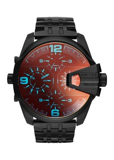 Diesel Men's Uber Chief Chronograph Bracelet Watch, 55mm x 62mm