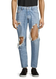 Diesel Mharky Distressed Slim Skinny-Fit Jeans