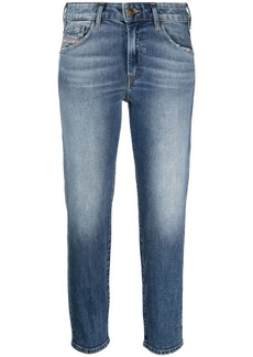 Diesel mid-rise cropped jeans