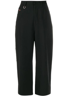 Diesel mid-rise cropped trousers