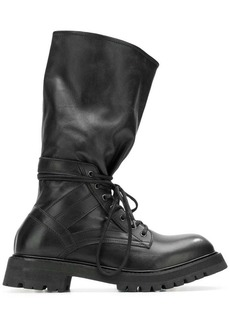 Diesel mid-top boots