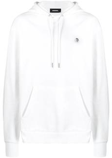 Diesel mohawk logo hoodie