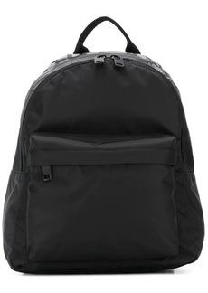 Diesel monochrome logo backpack