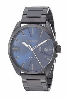Diesel MS9 Three-Hand Stainless Steel Watch DZ1908