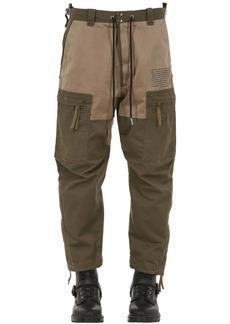 Diesel Multi-pocket Cotton Cargo Pants