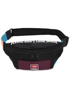 Diesel Multicolor Nylon Belt Bag