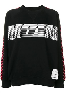 Diesel Now print sweatshirt