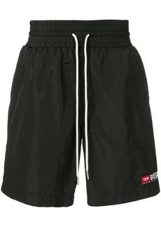 Diesel nylon loose fit shorts