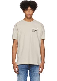 Diesel Off-White Logo T-Shirt