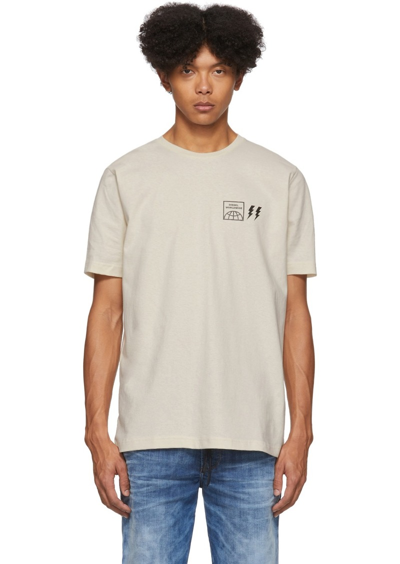 Diesel Off-White Logo T-Shirt
