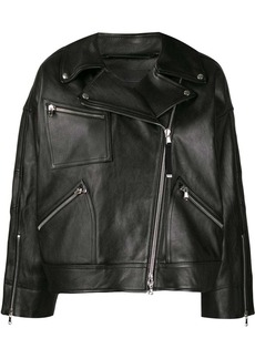Diesel oversized biker jacket
