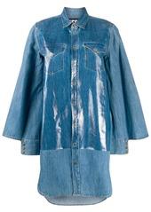 Diesel oversized denim shirt dress