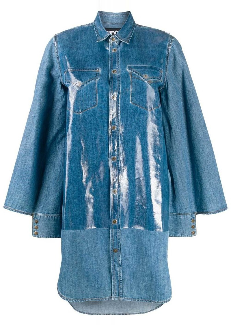 Diesel oversized denim shirt dress