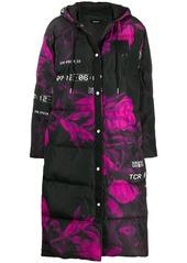 Diesel oversized padded midi coat