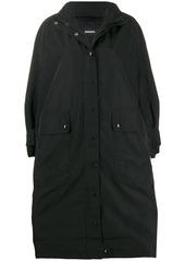 Diesel oversized parka coat