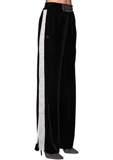 Diesel Oversized Wide Leg Pants W/ Side Bands