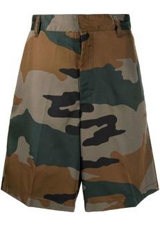 Diesel P-Berti-Camu twill shorts