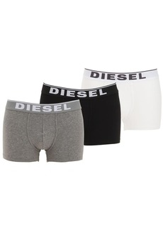Diesel Pack Of 3 Stretch Cotton Boxer Briefs