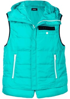 Diesel padded shell vest