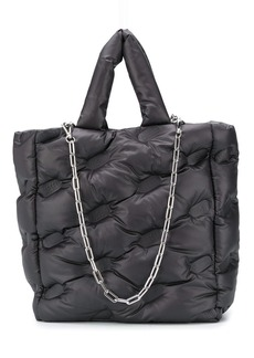 Diesel padded shopper bag