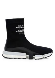 Diesel Padola Logo Sock Sneakers