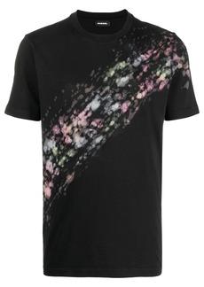 Diesel paint splatter T-shirt