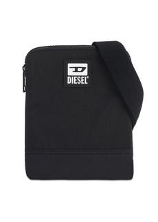 Diesel Patch Logo Nylon Crossbody Bag