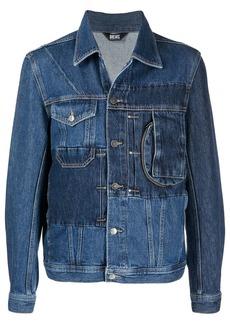 Diesel patchwork denim jacket