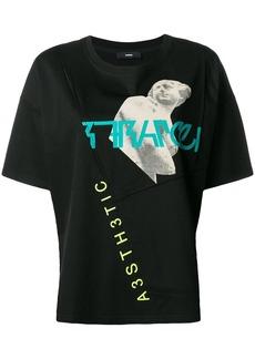 Diesel patchwork short-sleeve T-shirt