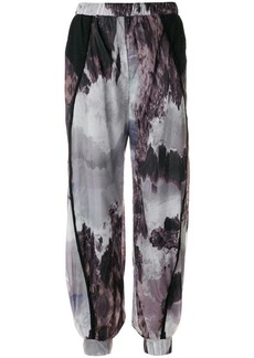 Diesel patterned loose fit trousers