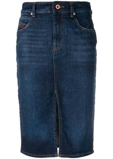 Diesel pencil denim skirt