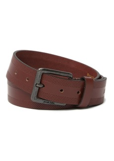 Diesel Perforated Leather Belt