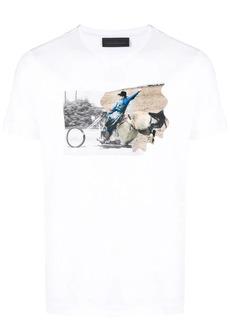 Diesel photographic print T-shirt