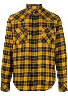Diesel plaid check shirt