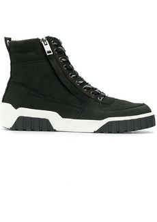 Diesel platform lace-up sneakers