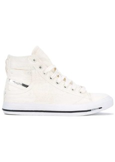 Diesel pocket detail hi-tops