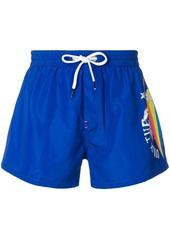 Diesel printed swim shorts
